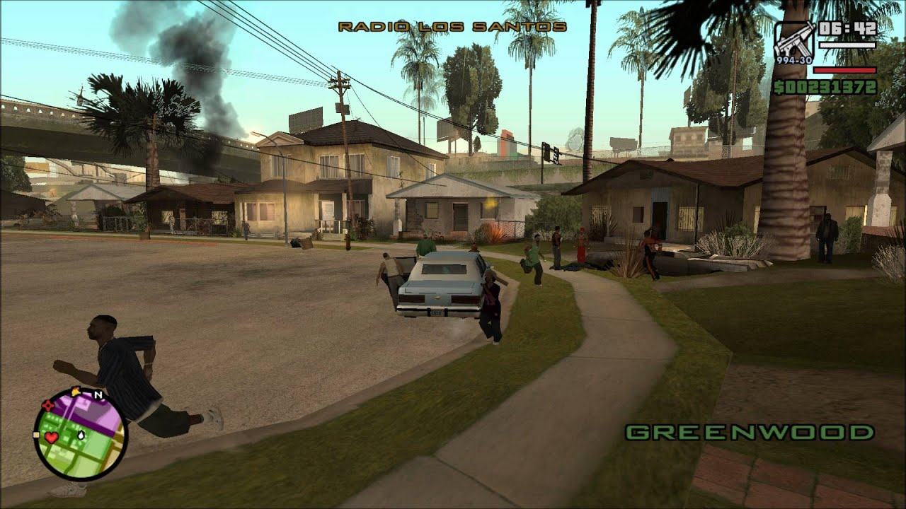 Grand Theft Auto San Andreas Gta  Grove Street Under