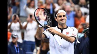 Roger Federer vs Damir Dzumhur | US Open 2019 R2 Highlights