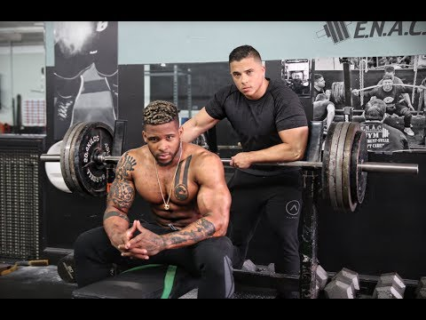 Madness With Terron Beckham 475 Bench Press Youtube