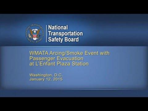 Accident Animation WMATA Metrorail accident, L'Enfant Plaza