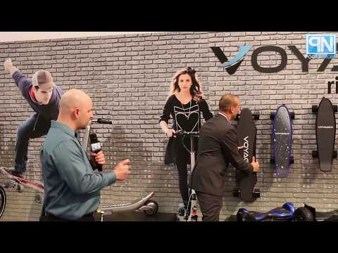 Vivitar - Electric Bikes/Boards, and Wireless Charging - Interview - CES 2018 - Poc Network