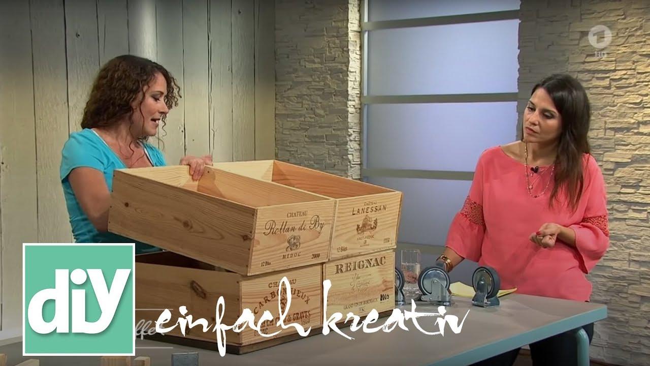 tisch aus weinkisten diy einfach kreativ youtube. Black Bedroom Furniture Sets. Home Design Ideas