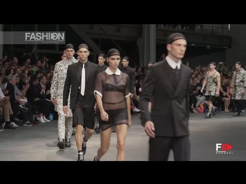 """GIVENCHY"" Menswear, Adriana Lima & Irina Shayk & Candice Swanepoel SS15 Paris by Fashion Channel"