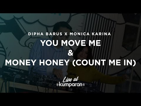 Dipha Barus X Monica Karina - You Move Me And Money Honey (Count Me In) | Live At Kumparan