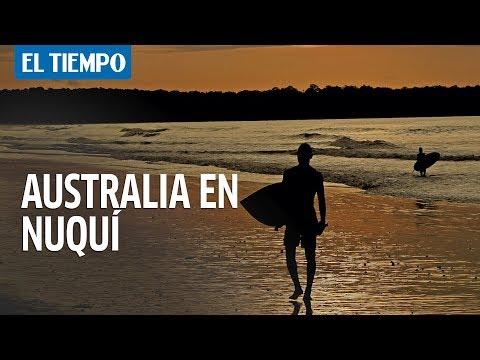 Australia en Nuquí   EL TIEMPO