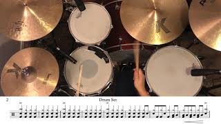 Download Way Maker - Leeland | Drum Cover w/ sheet music Mp3 and Videos