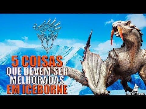 Monster Hunter World - 5 COISAS QUE EU QUERO VER MELHORADAS EM ICEBORNE! thumbnail