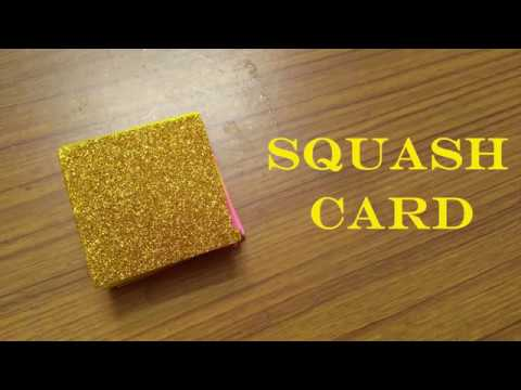DIY | Squash Card Tutorial
