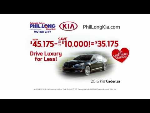 Biggest Savings at Phil Long Kia