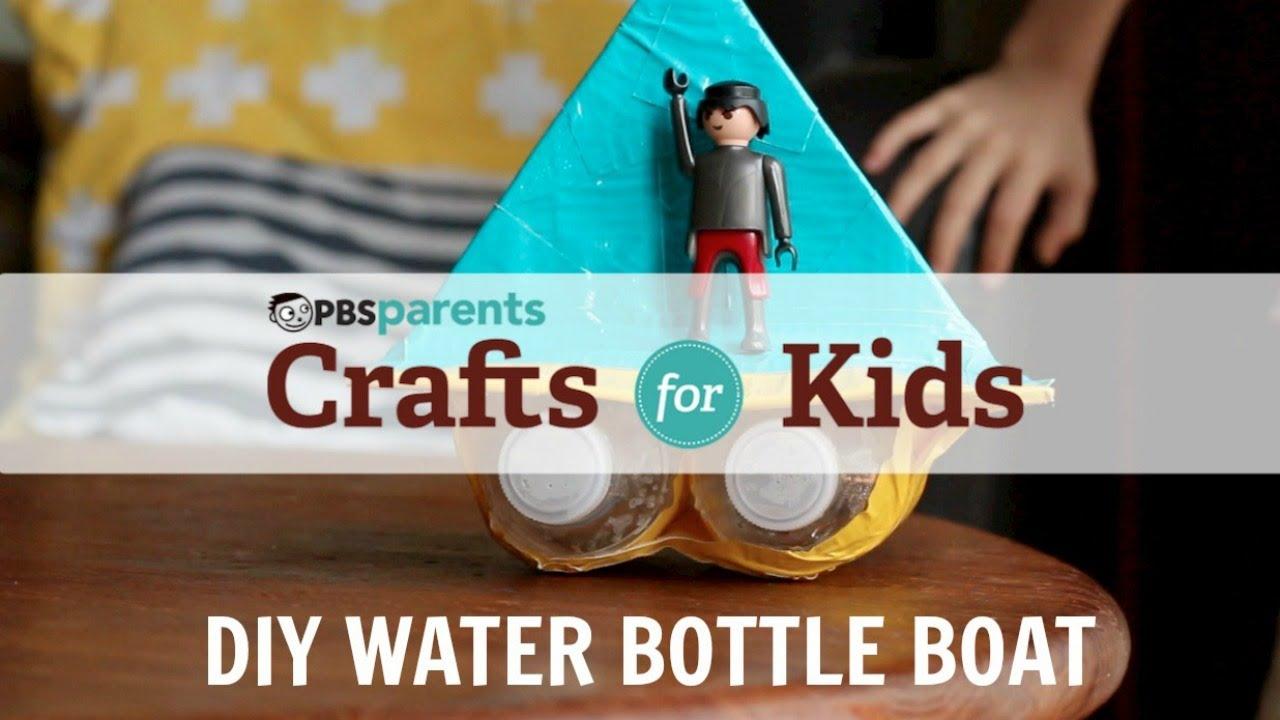 DIY Water Bottle Boat