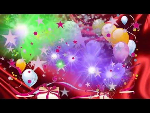 _День Рождения и другие праздники - футажи, фоны, маски