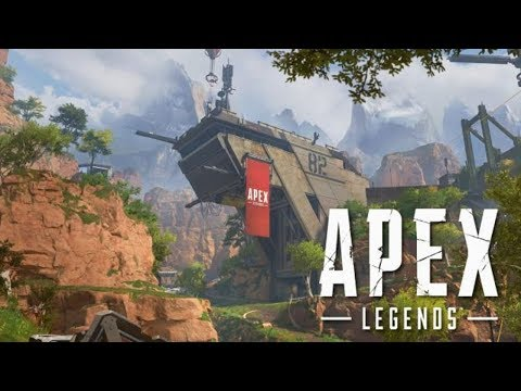 Apex Legends Kings Canyon Map Updated GAMEPLAY (My Biggest Enemy Internet LAG)   !!!!