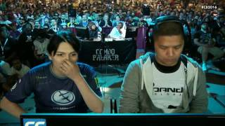 Street Fighter 5 Tournament - Combo Breaker 2016 Top 8 - FChamp (Dhalsim) vs Ricki Ortiz (Chun-Li)