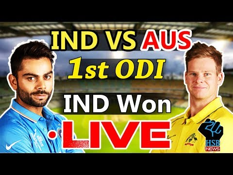 Live : India vs Australia,Live cricket score, India vs Australia, 1st ODI, Chennai: IND 29/3 (8.3)