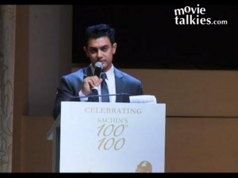 Aamir Khan Congratulates Sachin Tendulkar On His 100th Century