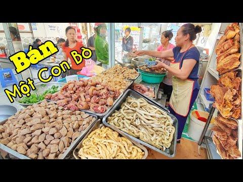 Quán Phở Gia Truyền Khủng Nhất Ở Sài Gòn Ngày Bán Nguyên Con Bò Mở Cửa 24/24