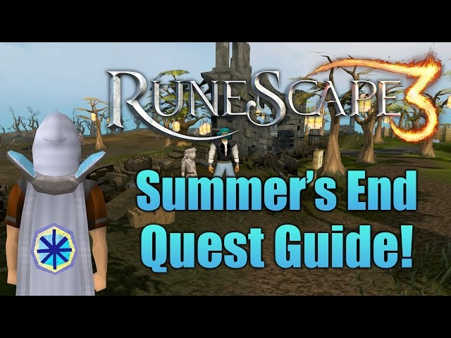 Runescape 3: The Summers End Quest Guide 2016!