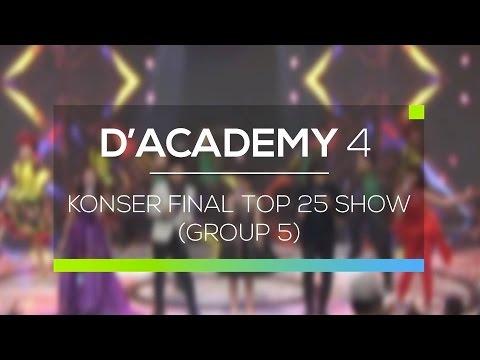 Highlight D'Academy 4 - Konser Final Top 25 Show Group 5
