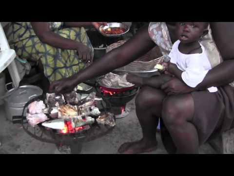 Fishmarket Elmina Ghana