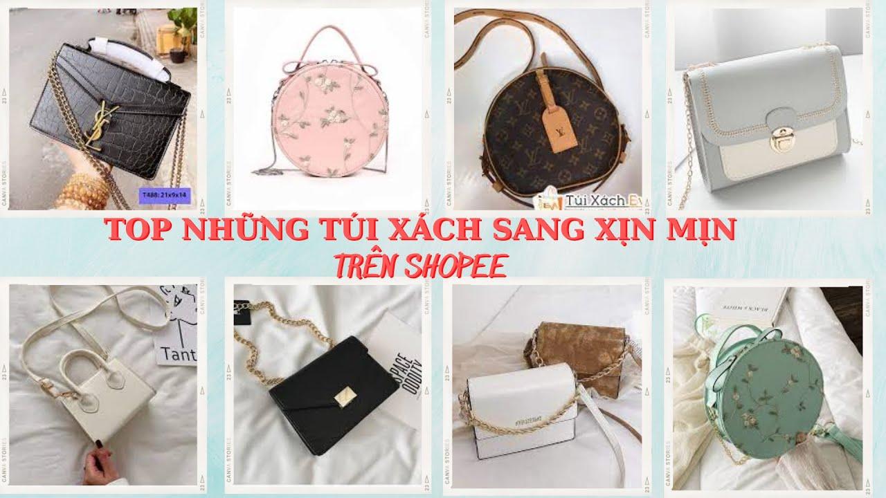 [Shopee haul] Tổng hợp Unboxing túi xách sang xịn mịn trên shopee giá cực rẻ #2   Thời trang shopee
