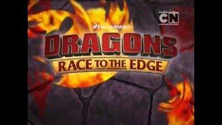 Драконы: Гонки по краю - Рекламный ролик третьего сезона
