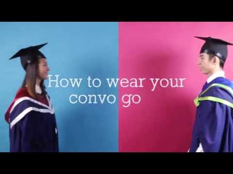 Guide to wearing your graduation gown