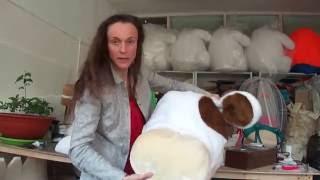 как сделать костюм коровы