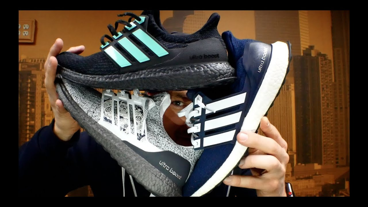 b6257a4baa323 How to customize your Ultra Boost with Boosted Stripes!! - YouTube