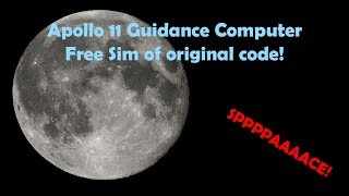 Apollo Guidance Computer IN YOUR WEB BROWSER! WHAT?!