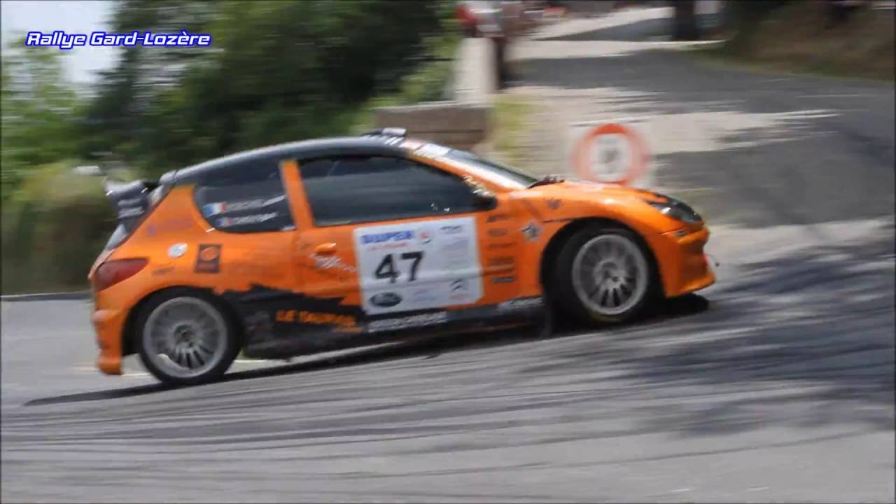 rallye du pays viganais 2016 thierry tondut fabrice roeckel peugeot 206 f2000 14 youtube. Black Bedroom Furniture Sets. Home Design Ideas
