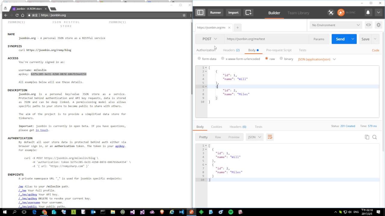 JSONBin:線上 JSON 資料庫儲存服務介紹 - YouTube