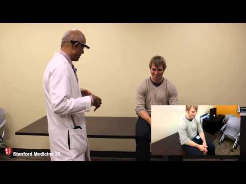 Examination of the Hand using Google Glass with Dr. Abraham Verghese