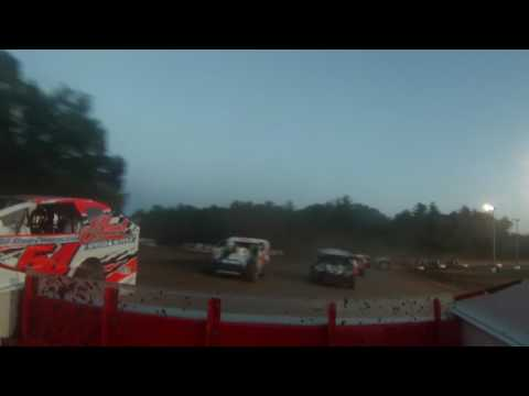 Albany Saratoga Speedway Big Show 9 Feature 6/27/17  (Rear Camera)