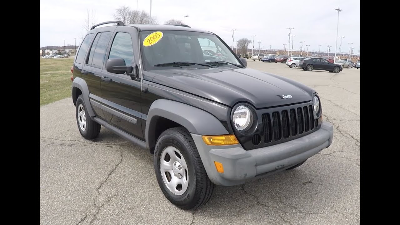 2005 jeep liberty sport 4x4 p10174b youtube. Black Bedroom Furniture Sets. Home Design Ideas