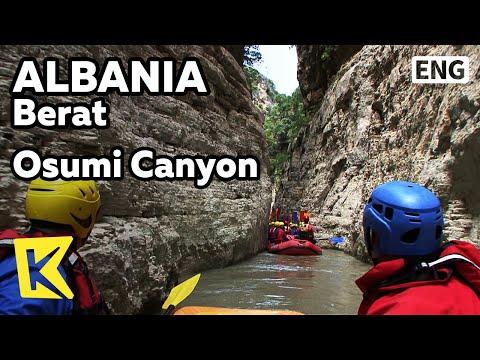 【K】Albania Travel-Berat[알바니아 여행-베라트]래프팅 명소 오수미 협곡/Osumi Canyon/Rafting/Waterfall/Unesco