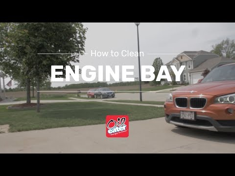 How to your Clean Engine Bay - Oil Eater