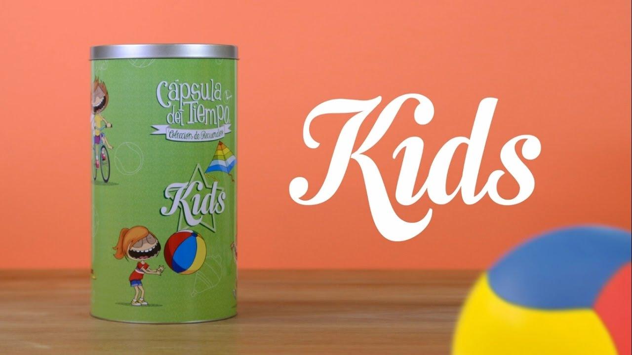 C psula del tiempo kids regalos originales para ni os - Regalos invitados cumpleanos infantiles ...