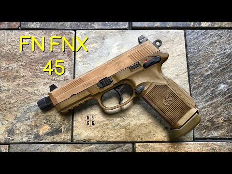 FN FNX 45 - Ready For Battle Right Out Of The Box!