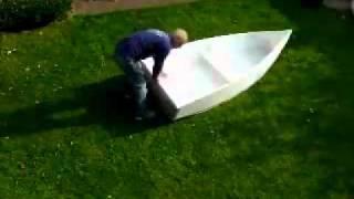 Самодельная складная лодка
