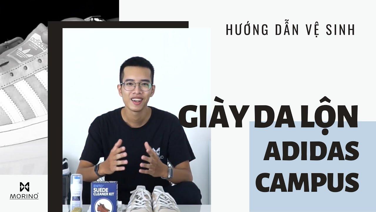 [Hướng dẫn] Làm sạch Adidas Campus da lộn