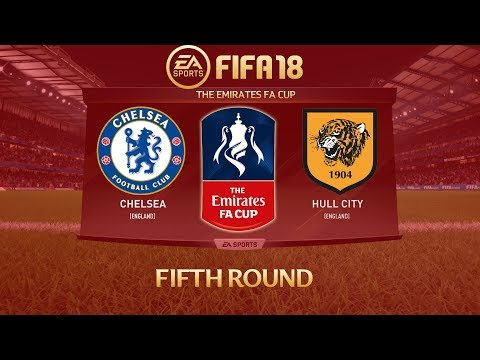 FIFA 18 Chelsea vs Hull City | The Emirates FA Cup 2017/18 | PS4 Full Match
