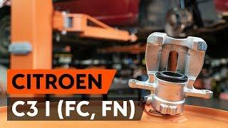 Jak wymienić przednie zaciski hamulcowe w CITROEN C3 1 (FC, FN) [PORADNIK AUTODOC]