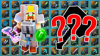 Spending 75,000 Emeralds To Get The PERFECT Weapon in Minecraft Dungeons