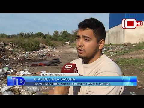 Sorpresa en el B° Santa Rita: Aparecieron ataúdes tirados en plena calle