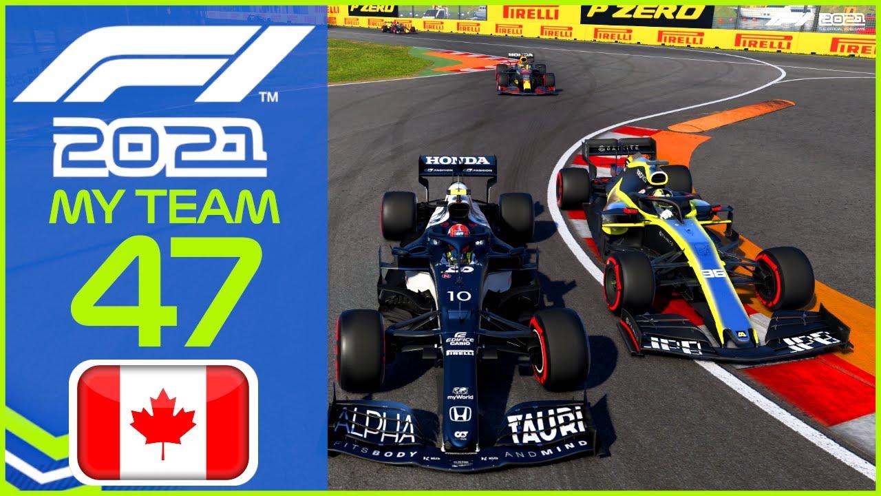 F1 2021 MyTeam KARRIERE #47: Keine Ahnung wie das passiert ist...