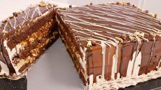 Торт Сникерс бомба рецепт энди бошка торт рецепти керак булмайди Snickers torti