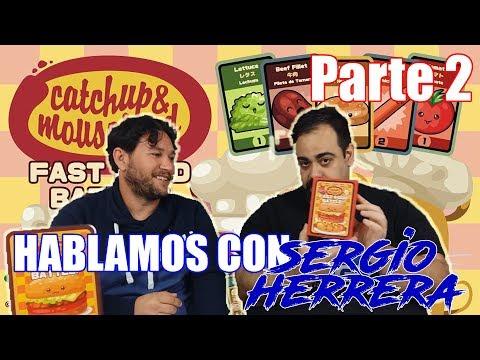 NERDFRIK Y SERGIO HERRERA - Catchup and Mousetard Fast Food Battle (Parte 2)