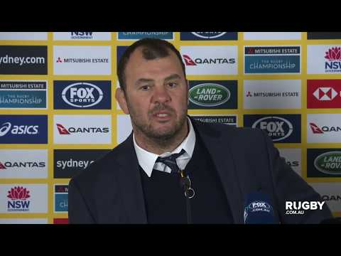 Bledisloe Cup: Wallabies press conference, Sydney