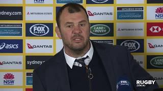 Bledisloe Cup: Wallabies press conference, Sydney