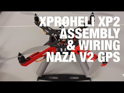 xproheli xp2 frame and landing gear assembly esc. Black Bedroom Furniture Sets. Home Design Ideas